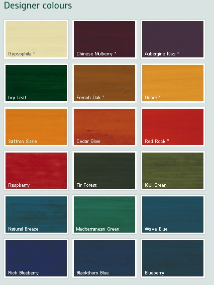 Dulux Exterior Wood Paint Colour Chart